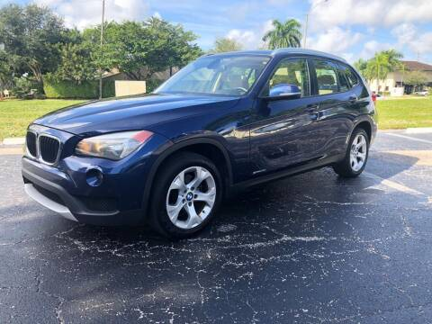 2013 BMW X1 for sale at GERMANY TECH in Boca Raton FL