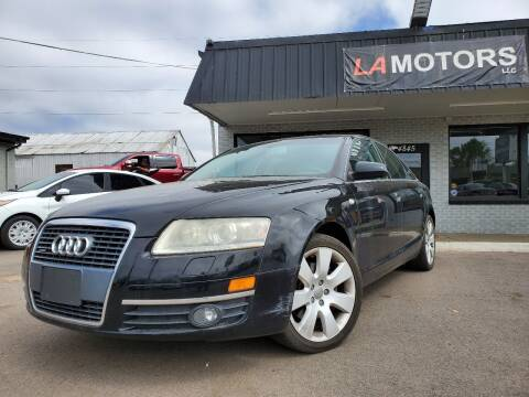 2005 Audi A6 for sale at LA Motors LLC in Denver CO
