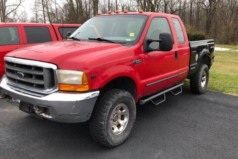 2000 Ford F-250 Super Duty for sale at WEINLE MOTORSPORTS in Cleves OH