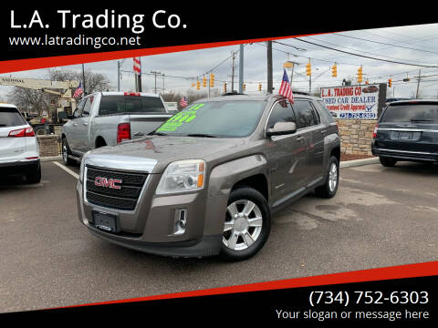 2012 GMC Terrain for sale at L.A. Trading Co. in Woodhaven MI