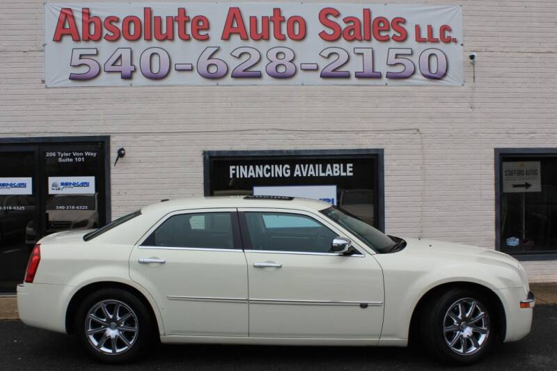 2009 Chrysler 300 for sale at Absolute Auto Sales in Fredericksburg VA
