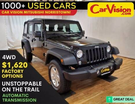 2017 Jeep Wrangler Unlimited for sale at Car Vision Buying Center in Norristown PA
