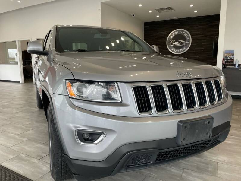 2015 Jeep Grand Cherokee for sale at Evolution Autos in Whiteland IN