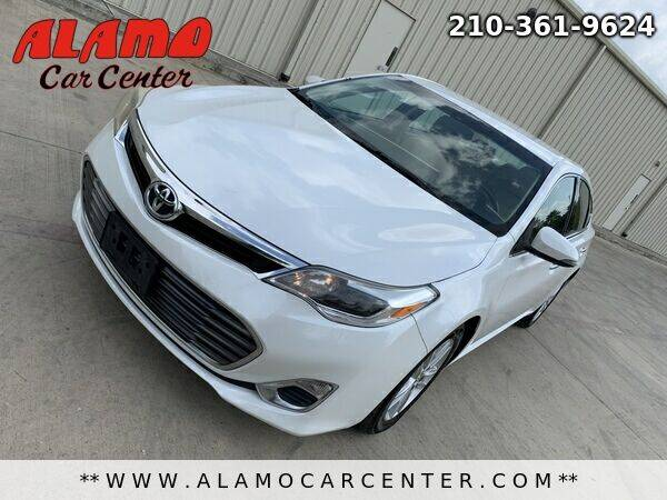 2015 Toyota Avalon for sale at Alamo Car Center in San Antonio TX