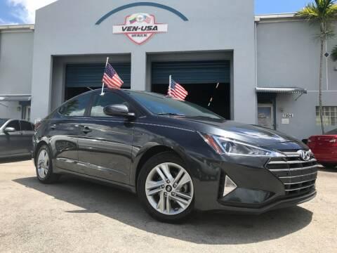 2020 Hyundai Elantra for sale at Ven-Usa Autosales Inc in Miami FL