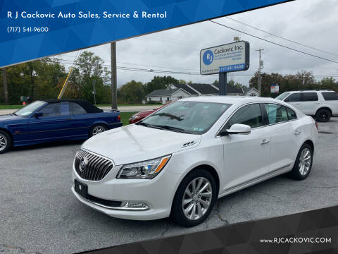 2016 Buick LaCrosse for sale at R J Cackovic Auto Sales, Service & Rental in Harrisburg PA
