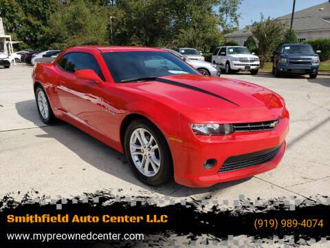2015 Chevrolet Camaro for sale at Smithfield Auto Center LLC in Smithfield NC