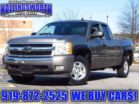 2008 Chevrolet Silverado 1500 for sale at Hollingsworth Auto Sales in Raleigh NC