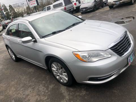 2012 Chrysler 200 for sale at Blue Line Auto Group in Portland OR