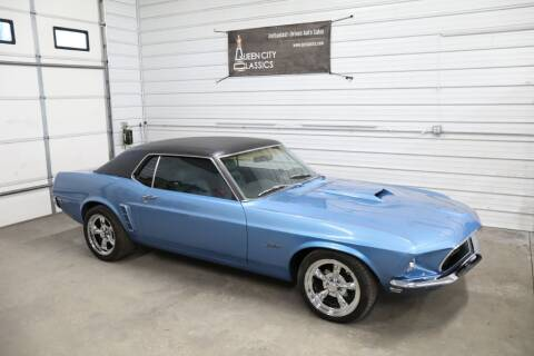 1969 Ford Mustang for sale at Queen City Classics in West Chester OH