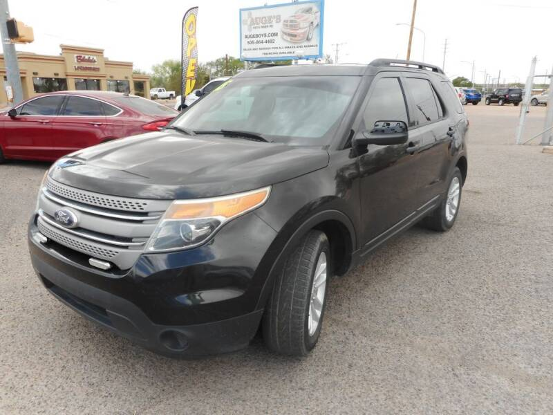 2015 Ford Explorer for sale at AUGE'S SALES AND SERVICE in Belen NM