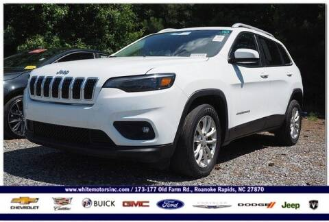 2019 Jeep Cherokee for sale at WHITE MOTORS INC in Roanoke Rapids NC