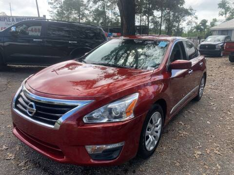 2014 Nissan Altima for sale at Triple A Wholesale llc in Eight Mile AL