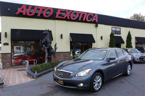 2012 Infiniti M37 for sale at Auto Exotica in Red Bank NJ
