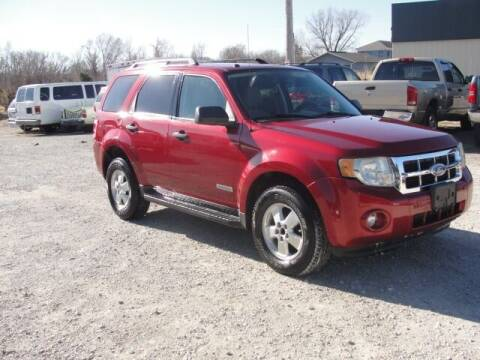 2008 Ford Escape for sale at Frieling Auto Sales in Manhattan KS