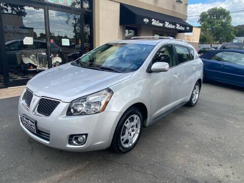 2009 Pontiac Vibe for sale at Wilson-Maturo Motors in New Haven CT