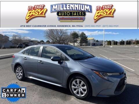 2020 Toyota Corolla for sale at Millennium Auto Sales in Kennewick WA
