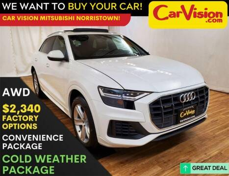 2019 Audi Q8 for sale at Car Vision Mitsubishi Norristown in Trooper PA