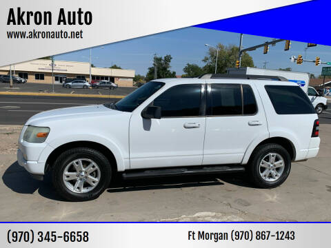 2010 Ford Explorer for sale at Akron Auto - Fort Morgan in Fort Morgan CO