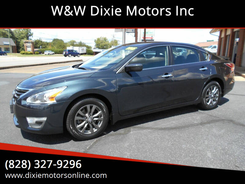 2015 Nissan Altima for sale at W&W Dixie Motors Inc in Hickory NC