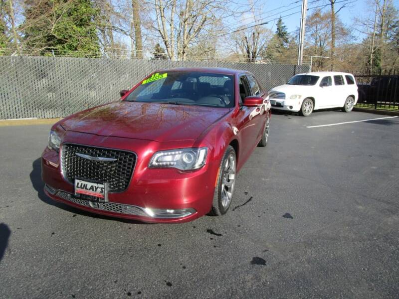 2018 Chrysler 300 for sale at LULAY'S CAR CONNECTION in Salem OR