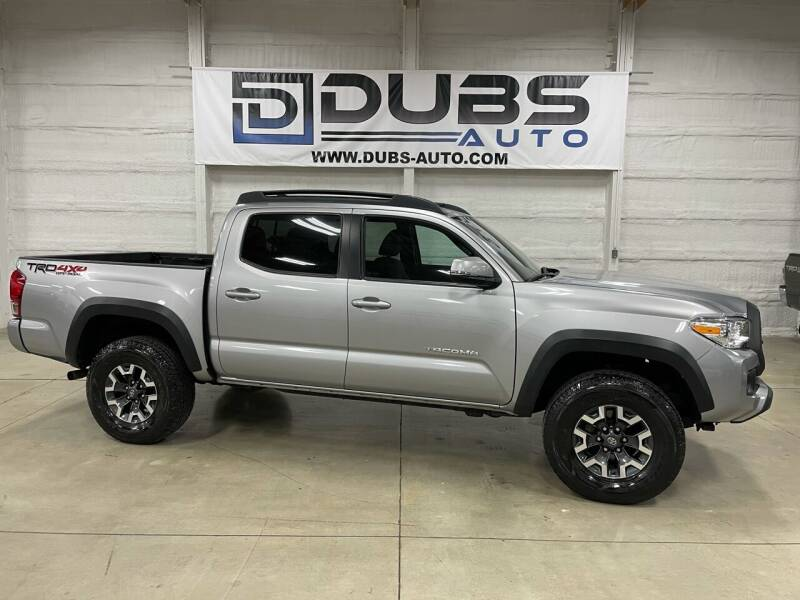 2017 Toyota Tacoma for sale at DUBS AUTO LLC in Clearfield UT