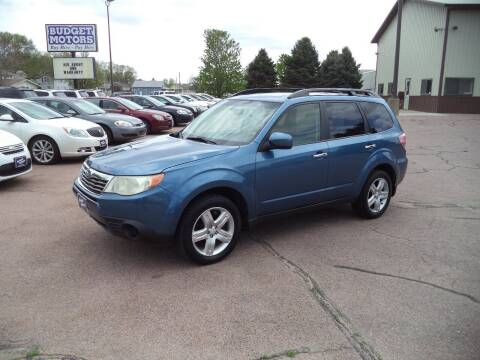 2010 Subaru Forester for sale at Budget Motors in Sioux City IA