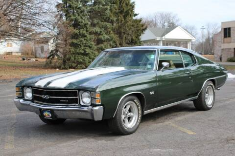 1971 Chevrolet Chevelle Malibu for sale at Great Lakes Classic Cars & Detail Shop in Hilton NY