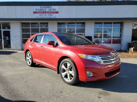 2010 Toyota Venza for sale at Landes Family Auto Sales in Attleboro MA