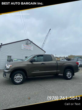 2013 Toyota Tundra for sale at BEST AUTO BARGAIN inc. in Lowell MA