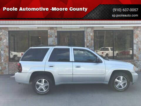 2007 Chevrolet TrailBlazer for sale at Poole Automotive in Laurinburg NC