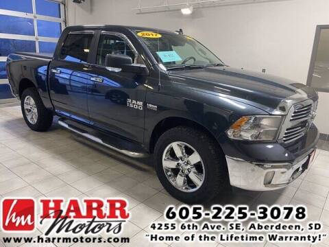 2017 RAM Ram Pickup 1500 for sale at Harr's Redfield Ford in Redfield SD