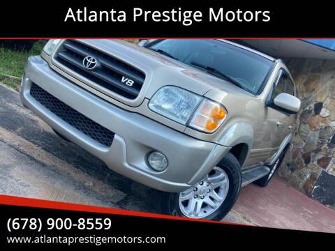2004 Toyota Sequoia for sale at Atlanta Prestige Motors in Decatur GA