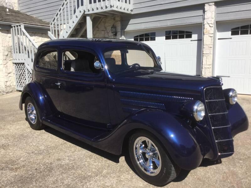 1935 Ford Tudor Slantback for sale at Mafia Motors in Boerne TX