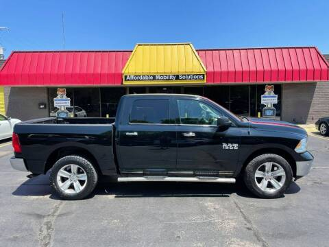 2014 RAM Ram Pickup 1500 for sale at Affordable Mobility Solutions, LLC - Standard Vehicles in Wichita KS