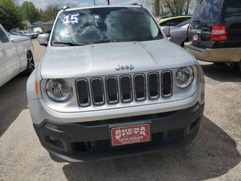2015 Jeep Renegade for sale at Buena Vista Auto Sales in Storm Lake IA