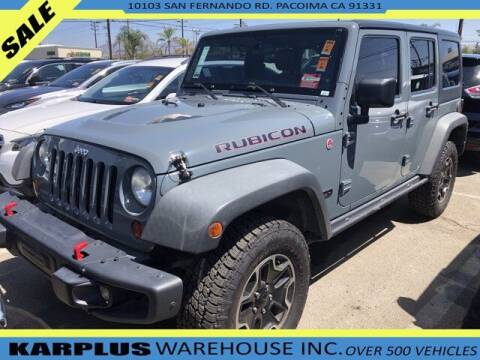2013 Jeep Wrangler Unlimited for sale at Karplus Warehouse in Pacoima CA