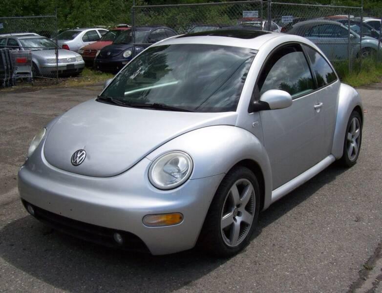 2001 Volkswagen New Beetle for sale at Main Street Motors in Bellingham WA