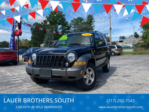 2006 Jeep Liberty for sale at LAUER BROTHERS SOUTH in York PA
