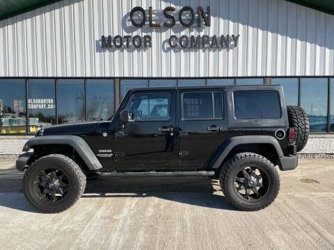 2012 Jeep Wrangler Unlimited for sale at Olson Motor Company in Morris MN