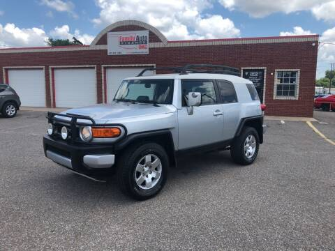 2007 Toyota FJ Cruiser for sale at Family Auto Finance OKC LLC in Oklahoma City OK