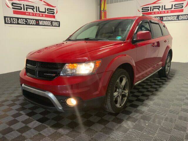 2016 Dodge Journey for sale at SIRIUS MOTORS INC in Monroe OH