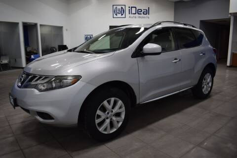 2013 Nissan Murano for sale at iDeal Auto Imports in Eden Prairie MN