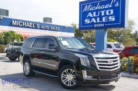 2017 Cadillac Escalade for sale at Michael's Auto Sales Corp in Hollywood FL