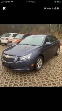 2013 Chevrolet Cruze for sale at Whiting Motors in Plainville CT