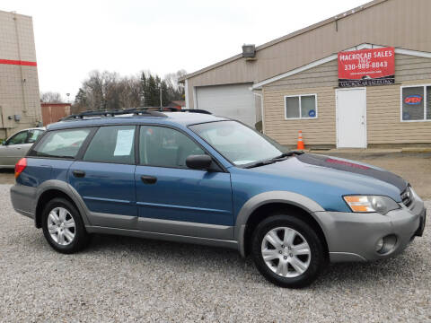 2005 Subaru Outback for sale at Macrocar Sales Inc in Akron OH