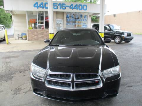 2013 Dodge Charger for sale at Elite Auto Sales in Willowick OH