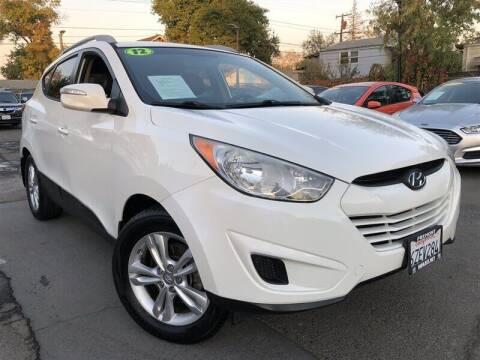 2012 Hyundai Tucson for sale at Stunning Auto in Sacramento CA