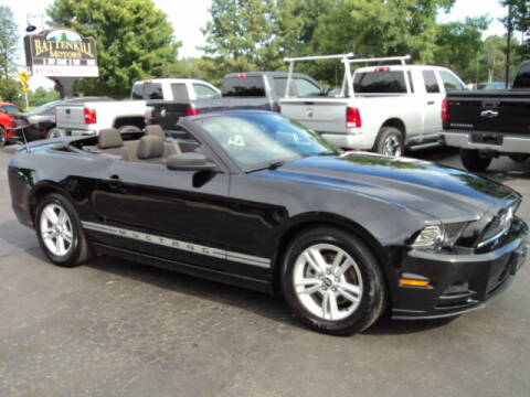 2014 Ford Mustang for sale at BATTENKILL MOTORS in Greenwich NY