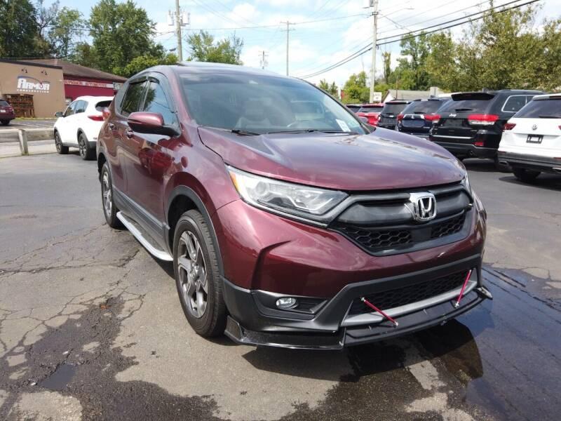 2017 Honda CR-V for sale at RS Motors in Falconer NY